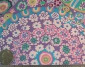 Kaffe Fassett MILLEFIORE GP92 Lilac Floral Quilt Fabric - by the Yard, Half Yard, or Fat Quarter Fq