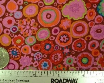 SALE - Kaffe Fassett PAPERWEIGHT PAPRIKA GP20 Fabric by the Yard, Half Yard, or Fat Quarter