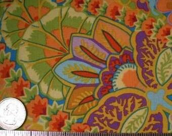 Kaffe Fassett PAISLEY JUNGLE Lime GP60 Quilt Fabric - by the Yard, Half Yard, or Fat Quarter