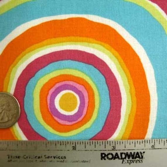 Kaffe Fassett TARGETS PASTEL Circles Gp67 Quilt Fabric - Fat Quarter Fq Very early retired design