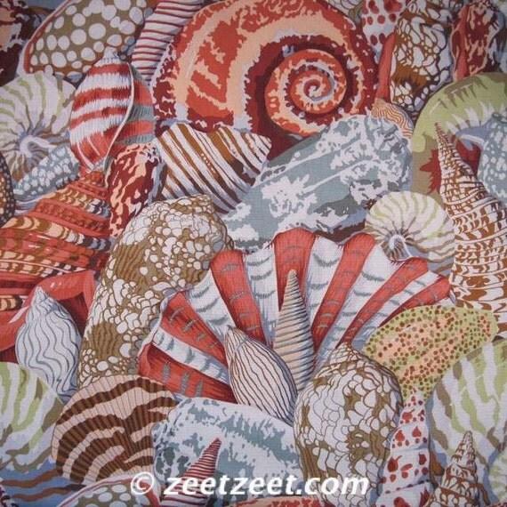 Kaffe Fassett SHELL MONTAGE Gray PJ37 Quilt Fabric - 1 Yard
