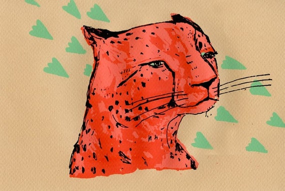 Leopard Screen Print