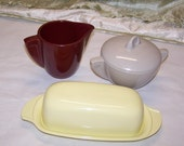 REserved for Sally Vintage Boonton Melmac Butter Dish Only