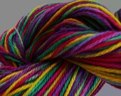 Hand Painted Bamboo Cotton Yarn  No 447