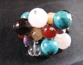 Custom order only -  Outrageously Fab Chakra Ring