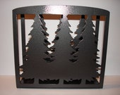 Pine Tree Napkin\/Letter Holder