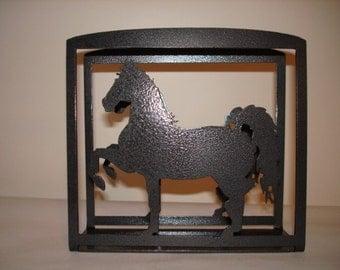 Fancy Horse Napkin or Letter Holder