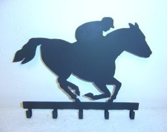 Horse Racer Key Rack