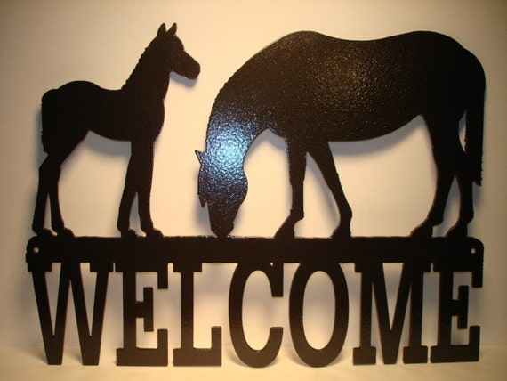 Horse and Colt Welcome
