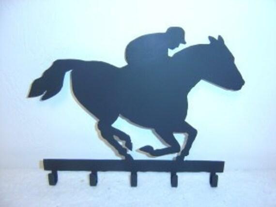 Horse Racer Key Rack