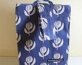 Project sack - Blue Naive Floral
