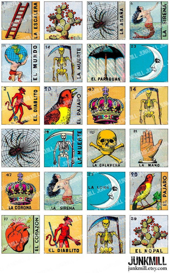 Fan image with regard to loteria printable