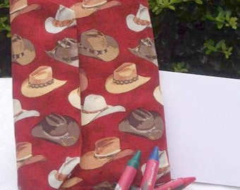 Cowboy Hat Crayon Wallet for Travel and Quiet Play on Clearance