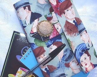 1940s Fashions Personal Planner Wallet and Organizer on clearance