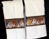 English Springer Spaniel Kitchen Towels
