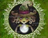 Wicked Witch of the West - Wizard of Oz - 8 x 8 Art Print