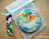 3 inches Large Pinback Button - Lullaby