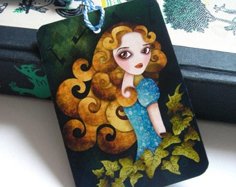 Alice in Wonderland - Alice Bookmark with tassel
