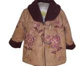 Micro Suede and Polar Fleece Jacket
