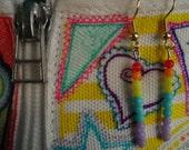 PIF - Subtle Rainbow earrings