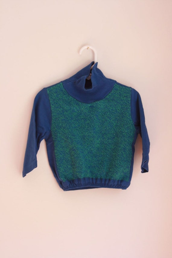 REserved for lisa......Vintage knit turtleneck  2t