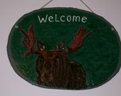 A Bull Moose Welcome