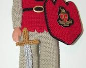 Crochet Pattern - Ken - Lancelot