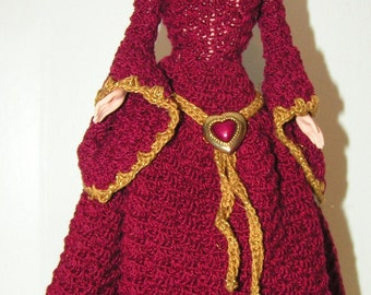 Crochet Pattern - Barbie Guinevere