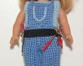 American Girl Mini Crochet Pattern - Little Miss Fix it