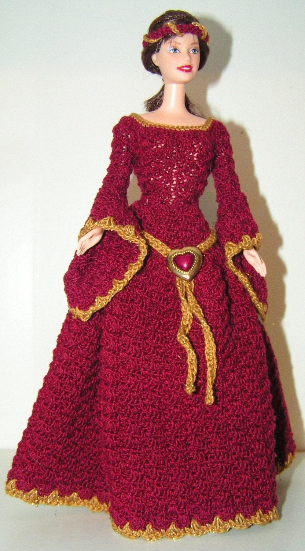 Medieval Dress Barbie Doll Patterns - Patterns Kid