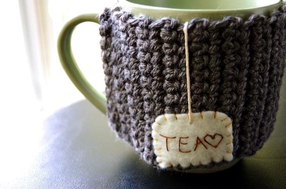Tea Love Mug Cozy - Made to Order