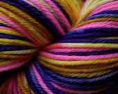 Sophie's Choice Monster High Inspired Clawdeen Yarn 220 Yards Superwash Merino Aran Weight