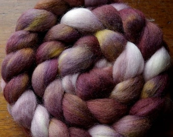 Chocolate Separates Spinning Fiber Corriedale Roving Top