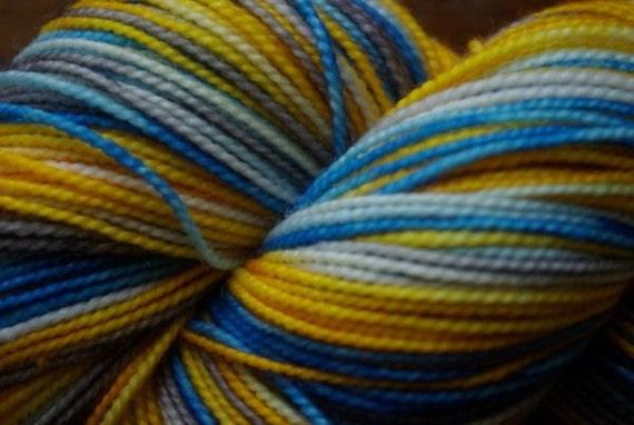 Hunger Games Inspired Haymich Abernathy  Sock Yarn Superwash Merino Fingering Weight