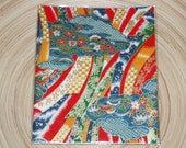 Japanese paper\/Washi - Yuzen Chiyogami with Traditional Floral Motifs