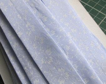 Handmade Pastel Blue Cotton Bias Binding
