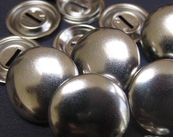 12 Cover Button Blanks Size 30 19mm