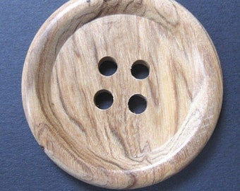 2 Inch Wooden Button