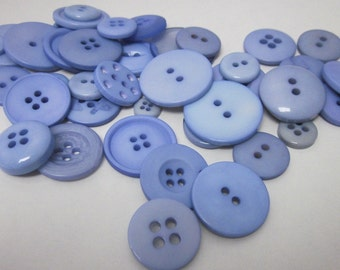 60g Mixed Lavender Buttons