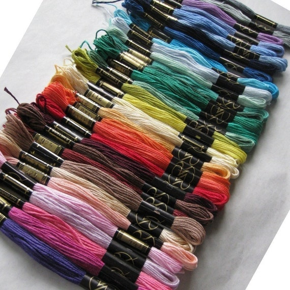 36 Embroidery Threads