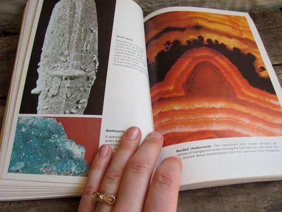 vintage 1960s book // gems, minerals, crystals and ores