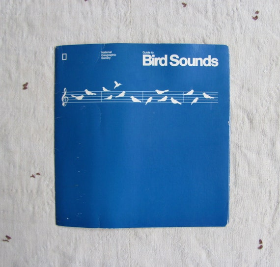 vintage 1980s BIRD SOUNDS record set // National Geographic Society