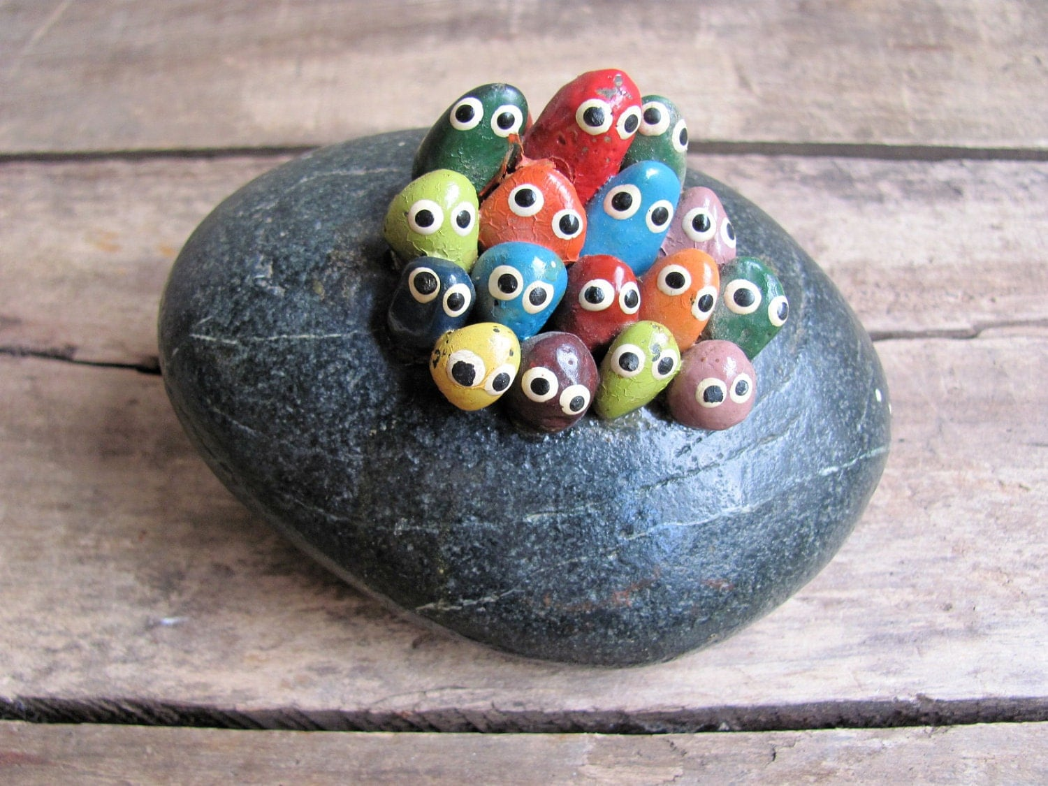 rock crafts ideas vintage 1970s souvenir pet rocks 2845
