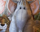 Medium Sized Elephant from the Jungle Babies Stuffed Animals  Collection