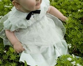 TUXEDO Dress MINT green 6-9mo