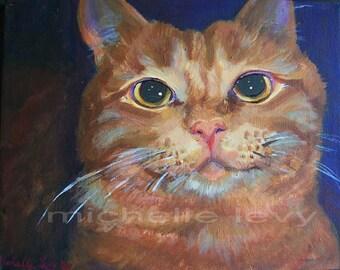 11 x 14 in Custom Pet Portrait