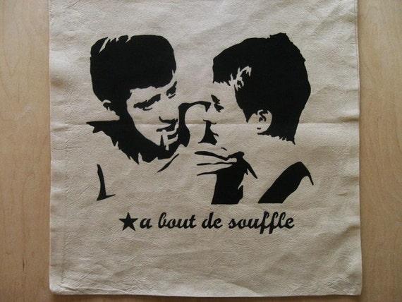 A Bout De Souffle Bag Jean Seberg Jean Luc Godard Jean Paul Belmondo