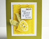 Best Yet Lemon Greeting Card
