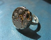 One of a Kind Silver, Watch Gear RIng