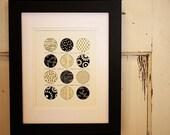 Authentic Circle Print